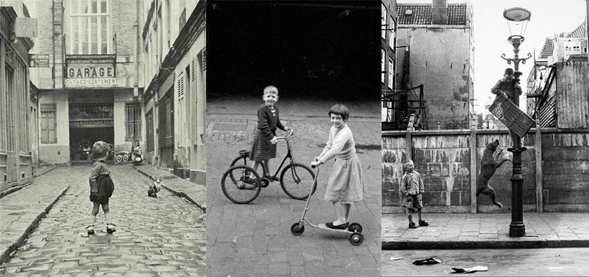 Niños en la gran ciudad