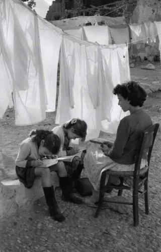 Agosto, «Greece», René Burri, 1947.