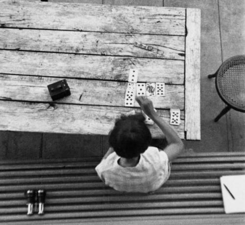Enero. André Kertész. «Saint-Gervais-les-Bains».